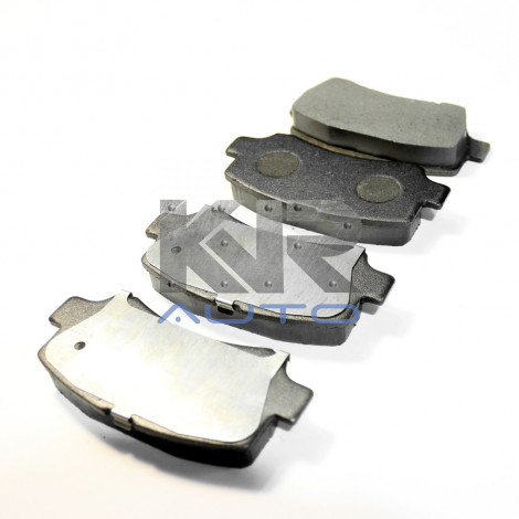 Колодки тормозные передние (комплект) FAW 6371
