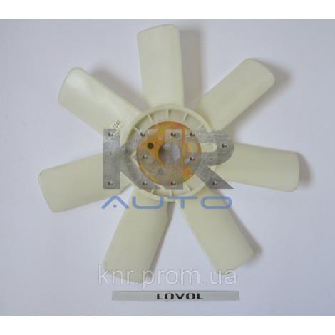 Крыльчатка вентилятора KM385, Фотон 240/244, Донгфенг 240/244, Джинма 240/244, Синтай 244, ДТЗ 244