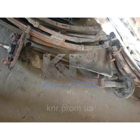 Балка передняя в сборе (цилиндры тормозные, опорный диск, тяга рулевая продольная, тяга поперечная) JAC-1020