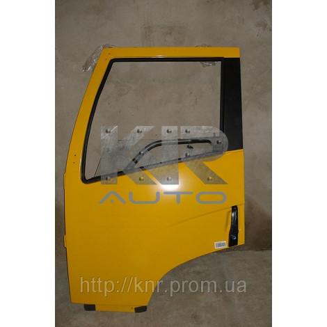 Дверь левая (пустая, желтая в сборе) FAW 3252(Фав 3252)