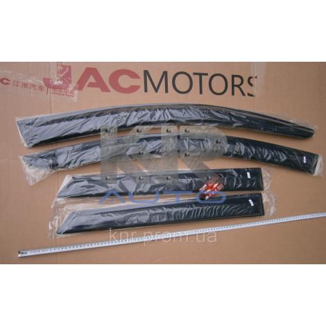 Ветровики (дефлекторы) окон JAC S3