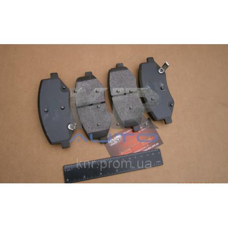 Колодки тормозные передние JAC S3